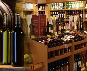 Conheça nossa adega com os mais variados vinhos e bebidas nacionais e importados.